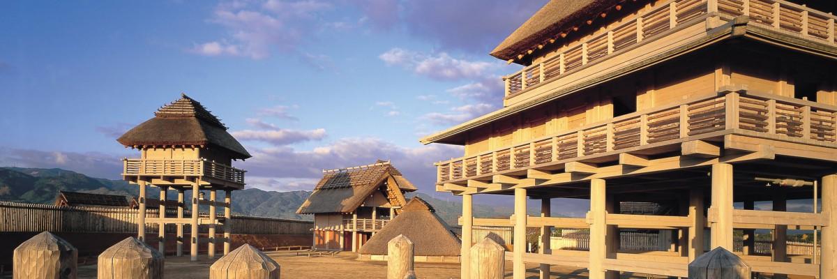 国営吉野ケ里歴史公園(佐賀県神埼市、神埼郡吉野ヶ里町)